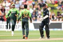 Aamer Yamin had Kane Williamson caught in the deep, New Zealand v Pakistan, 5th ODI, Wellington, January 19, 2018