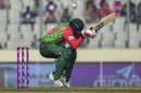 Tamim Iqbal ducks under a bouncer, Bangladesh v Sri Lanka, Bangladesh Tri-nation series 2018, Mirpur, January 19, 2018