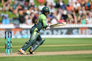 Shadab Khan steers one to third man, New Zealand v Pakistan, 5th ODI, Wellington, January 19, 2018