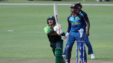 Muhammad Musa hit the winning runs for Pakistan Under-19s