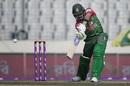 Anamul Haque punches through the covers, Bangladesh v Sri Lanka, Tri-nation series, Dhaka, January 19, 2018