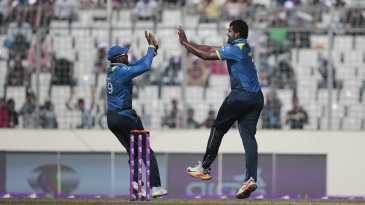 Thisara Perera broke through by ending a strong opening stand