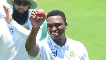 Ngidi has come from facing off against Kagiso Rabada at school to taking bowling honours alongside him