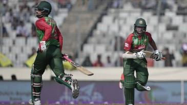 Tamim Iqbal and Shakib Al Hasan kept Bangladesh ticking