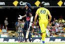 Alex Hales was bowled by Jhye Richardson, Australia v England, 2nd ODI, Brisbane, January 19, 2018