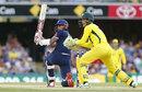 Alex Hales notched a half-century, Australia v England, 2nd ODI, Brisbane, January 19, 2018
