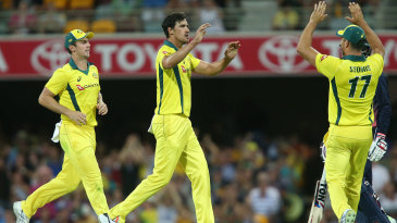 Mitchell Starc nipped out two in an over