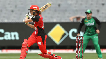Amy Satterthwaite earned a Super Over with a last-ball six