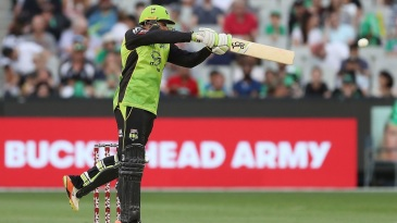 Usman Khawaja punished the Stars with a flurry of boundaries