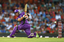 Ben Mcdermott plays a sweep, Perth Scorchers v Hobart Hurricanes, Big Bash League, January 20, Perth