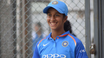 Jemimah Rodrigues sports a smile after the practice match