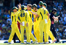 Adam Zampa struck to break the third-wicket partnership, Australia v England, 3rd ODI, Sydney, January 21, 2018