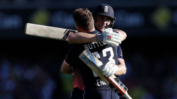 Jos Buttler and Chris Woakes added 113 together