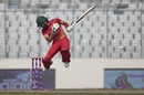 Sikandar Raza goes airborne and fends a bouncer away, Sri Lanka v Zimbabwe, tri-series, Mirpur, January 21, 2018