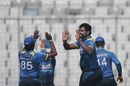 Thisara Perera's triple-strike lifted Sri Lanka, Sri Lanka v Zimbabwe, tri-series, Mirpur, January 21, 2018