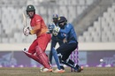 Brendan Taylor profited from leg glances, Sri Lanka v Zimbabwe, tri-series, Mirpur, January 21, 2018