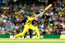 Steven Smith reaches out to drive, Australia v England, 3rd ODI, Sydney, January 21, 2018