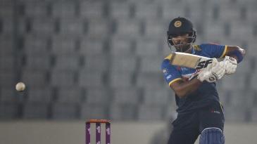 Dinesh Chandimal steered Sri Lanka to their maiden win of the series