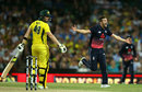 Steven Smith looks back after edging to Jos Buttler, Australia v England, 3rd ODI, Sydney, January 21, 2018