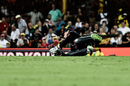 Jos Buttler dives to take a catch to dismiss Steven Smith Australia v England, 3rd ODI, Sydney, January 21, 2018