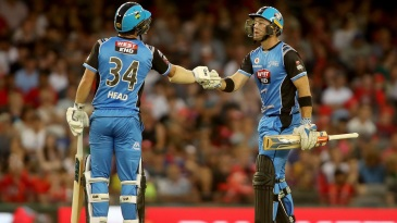 Colin Ingram and Travis Head were involved in an 88-run partnership