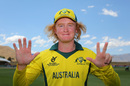 Lloyd Pope registered record figures of 8 for 35, Australia v England, Under-19 World Cup, quarter-final, Queenstown, January 23, 2018