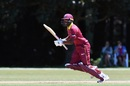 Nyeem Young sets off for a run, West Indies v Kenya, Under-19 World Cup, Christchurch, January 20, 2018