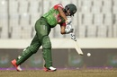 Shakib Al Hasan punches down the ground, Bangladesh v Zimbabwe, Tri-nation series, Mirpur, January 23, 2018