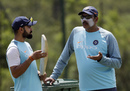 Virat Kohli and Ravi Shastri have a chat, Johannesburg, January 23, 2018