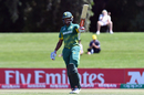 Wandile Makwetu celebrates his half-century, Pakistan v South Africa, Under-19 World Cup, Christchurch, January 24, 2018