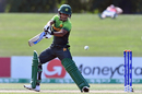 Ali Zaryab Asif cuts one square, Pakistan v South Africa, Under-19 World Cup, Christchurch, January 24, 2018