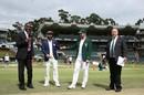 Pre-match camaraderie between Virat Kohli and Faf du Plessis, South Africa v India, 3rd Test, Johannesburg, 1st day, January 24, 2018