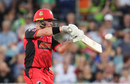 Marcus Harris slaps one en route to his 64, Sydney Thunder v Melbourne Renegades,  Canberra, January 24, 2018