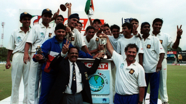India Under-19s celebrate their World Cup win