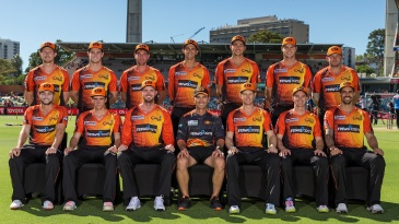 Perth Scorchers donned the shirts worn in the first BBL season to commemorate their final match at the WACA