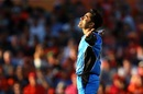 Rashid Khan celebrates after dismissing Hilton Cartwright, Perth Scorchers v Adelaide Strikers, BBL 2017-18, Perth, January 25, 2018
