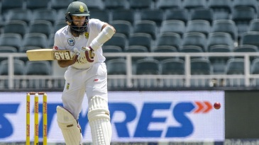 Hashim Amla shapes up to play one