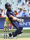 Moeen Ali helped steady the innings, Australia v England, 4th ODI, Adelaide, January 26, 2018