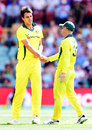 Pat Cummins claimed a four-wicket haul, Australia v England, 4th ODI, Adelaide, January 26, 2018