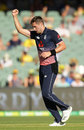 Chris Woakes made a battling 78 to revive England at Adelaide, Australia v England, 4th ODI, Adelaide, January 26, 2018