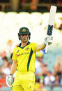 Travis Head's fifty steered the Australia chase, Australia v England, 4th ODI, Adelaide, January 26, 2018