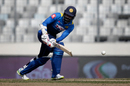 Upul Tharanga clips into the leg side, Bangladesh v Sri Lanka, Tri-Nation Series, final, Mirpur, January 27, 2018