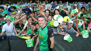 Kevin Pietersen has had many retirements - including this one in the Big Bash