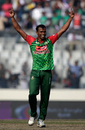 Rubel Hossain picked up his seventh four-for in ODIs, Bangladesh v Sri Lanka, Tri-Nation Series, final, Mirpur, January 27, 2018