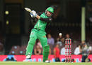Ben Dunk takes a wild one, Melbourne Stars v Sydney Sixers, Big Bash League, January 23, 2018