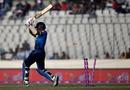 Debutant Shehan Madushanka was bowled by Rubel Hossain for 7, Bangladesh v Sri Lanka, Tri-Nation Series, final, Mirpur, January 27, 2018