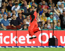 Tom Cooper takes a stunner to send back Matt Renshaw, Heat v Renegades, Big Bash League, Brisbane, January 27, 2018