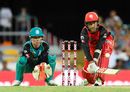 Tom Cooper shapes to reverse-sweep, Heat v Renegades, Big Bash League, Brisbane, January 27, 2018
