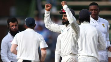Virat Kohli is stoked upon clinching a win at the Wanderers Stadium