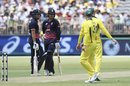 Jonny Bairstow and Jason Roy put on 71 for the first wicket, Australia v England, 5th ODI, Perth, January 28, 2018